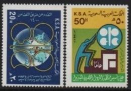 Saudi Arabia (K.S.A.) 1980 Organization Oil Exporting Countries-Organisation Pay Exportateurs Pétrole (OPEP) ** - Arabia Saudita