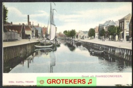 RAAMSDONKVEER Met Haven Ca 1910 - Nederland