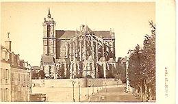 Photo 10,5 Sur 6,2 Photographe J Guittet Le Mans. Cathédrale Du Mans - Antiche (ante 1900)