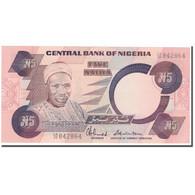 Billet, Nigéria, 5 Naira, KM:24c, NEUF - Nigeria