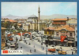 KONYA GEZ DUNYAYI GOR KONYAYI HUKUMET MEYDANI VE SERAFETTIN CAMII UNUSED - Turchia