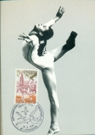 CM- Carte Maximum Card # France-1978 #  Sport # XIX Word Cup #Championnat Du Monde De Gymnastique,Strasbourg - Maximum Cards