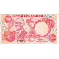 Billet, Nigéria, 10 Naira, KM:25e, NEUF - Nigeria