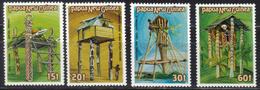 PAPOUASIE Nll GUINEE N° 490 à 493 Neufs** Cote 5€ - Papouasie-Nouvelle-Guinée