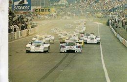 24 Heures Du Mans 1984  -   Le Départ  -  Lancia LC2 - Porsche 936  -  CPM - Le Mans