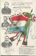 Transvaal - Banner - Paul Krüger - Dr. W. J. Leyds - General Joubert - Südafrika