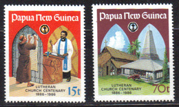 PAPOUASIE Nll GUINEE N° 524 Et 525 Neufs** Cote 4,50€ - Papouasie-Nouvelle-Guinée