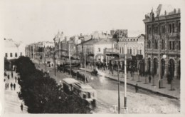Moldova - Chisinau - Strada Alexandru Cel Bun - Tram - Moldova