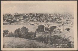 Birds Eye View, Calgary, Alberta, C.1910s - Photogelatine Engraving Co Postcard - Calgary