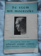"""Priester Poppe  Tijdschrift """" De Stem Uit Moerzeke"""" - Livres, BD, Revues"""