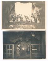 Lot De 2 Images-photos : NAMUR Jambes - Eglise Saint Symphorien - Intérieur , La Crèche De Noël 1930 Et 1932 - Santini