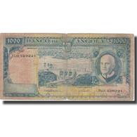 Billet, Angola, 1000 Escudos, 1970, 1970-06-10, KM:98, B - Angola