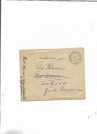 Brief Von Waltrop Nach Einen Arbeitsmann 1943! - Deutschland