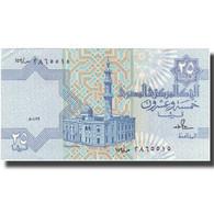 Billet, Égypte, 25 Piastres, Undated (1985-2007), KM:57a, SPL+ - Egypte