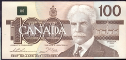 Canada 100 Dollars 1988 UNC P- 99a < Rare > - Canada