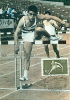 CM-Carte Maximum Card # France-1972 # Sport,Olympiade # Jeux Olympiques De Munich, Summer Olympic Games  Munich # Paris - Maximum Cards