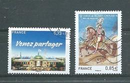 FRANCE     Yvert   N° 5144 Et 5157  Oblitérés - France
