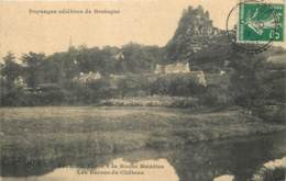 29 - LA ROCHE MAURICE - L'Elorn Et Les Ruines Du Chateau En 1913 - La Roche-Maurice