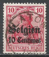 Belgium, (Under German Occupation) 1914. Scott #N3 (U) Germania * - Guerre 14-18