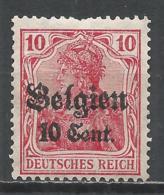 Belgium, (Under German Occupation) 1916. Scott #N14 (M) Germania * - Guerre 14-18