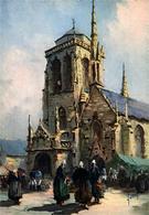 LOCRONAN L Eglise - Bretagne