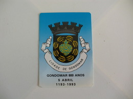 Câmara Municipal De Gondomar Portugal Portuguese Pocket Calendar 1993 - Calendari