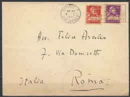 Schweiz Brief Mit Werbestempel Wintersport Courses Fis St. Moritz Engadine  1934 - Wintersport (Sonstige)
