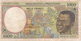 BILLETE DE GUINEA ECUATORIAL DE 1000 FRANCS DEL AÑO 1994 (BANKNOTE) - Equatoriaal-Guinea