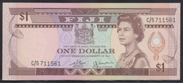 Fiji 1 Dollar (ND 1980) UNC - Fiji