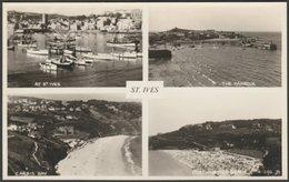 Multiview, St Ives, Cornwall, C.1950 - Judges RP Postcard - St.Ives