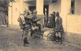 German Army In Serbia During World War One : Billeting In Serbia. - Serbia