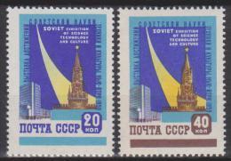 Russie N° 2189 - 2190 *** Exposition De La Science Soviétique à New-York - 1959 - Neufs