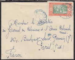 COVER FRENCH COLONIES LETTRE COLONIES FRANCE - Timbres