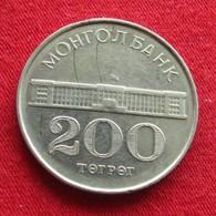 Mongolia 200 Tugrik 1994 KM# 125 Mongolie - Mongolie