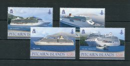 "Pitcairn - Mi.Nr. 876 / 879 - ""Kreuzfahrtschiffe"" ** / MNH (aus Dem Jahr 2013) - Timbres"