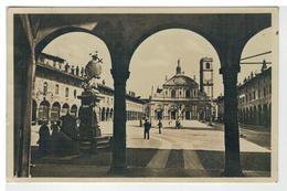 Cartolina Vigevano - Piazza Ducale - Dettaglio - Vigevano