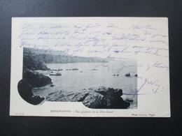 AK 1903 Algerien / Alger Französische Besetzung! Bains - Romains Vue Generale De La Cote Quest. Phot Leroux Alger - Scènes & Types