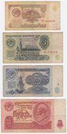 Russia SET - 1 3 5 10 Rubles 1961 - Fine - Russia