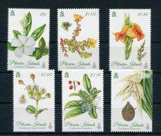 """Pitcairn - Mi.Nr. 907 / 912 - """"Pflanzen"""" ** / MNH (aus Dem Jahr 2014) - Briefmarken"""