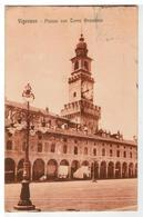 Cartolina Vigevano - Piazza Con Torre Bramante - Vigevano