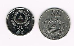 &  CABO VERDE  20 En 50  ESCUDOS  1994 - Cap Vert