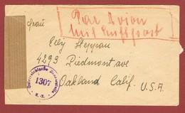 Luftpostbrief Ab Gols Nach U S A  1948 Porto 4.60 Sch.   ; 2 Scan - 1945-60 Briefe U. Dokumente