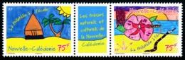 """NOUV.-CALEDONIE 2015 - Yv. 1238 Et 1239 ** SUP - Tryptique """"Philatélie à L'école"""" (2 Val.)  ..Réf.NCE24197 - New Caledonia"""