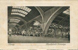 005766  Leipzig - Hauptbahnhof, Bahnsteige  1935 - Leipzig