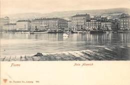 CROATIA - Rijeka (Fiume) - Molo Adamich. - Croatia