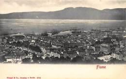 CROATIA - Rijeka (Fiume) - Bird's Eye View. - Croatia