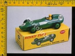 Cartolina Postcard Dinky Toys Auto Vanwall - Cartoline