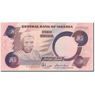 Billet, Nigéria, 5 Naira, KM:24c, TTB+ - Nigeria