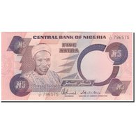 Billet, Nigéria, 5 Naira, KM:24c, SUP - Nigeria