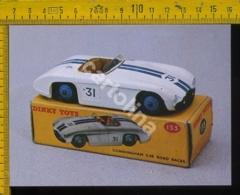 Cartolina Postcard Dinky Toys Auto Cunningham C-5R - Cartoline